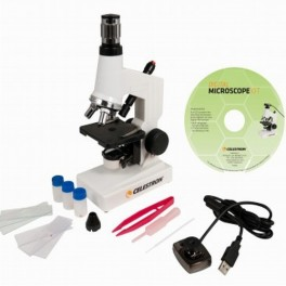Celestron - Microscopio biologico con camera digitale