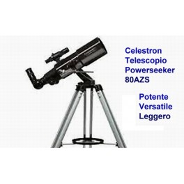 Celestron - Telescopio Powerseeker 80 AZS