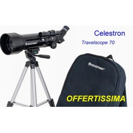 Celestron - Telescopio Rifrattore TravelScope 70  entry level